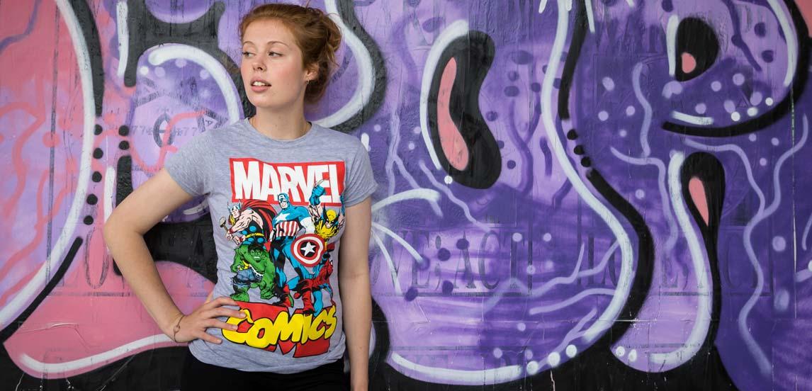 Superhelte/popkultur Kvinde T-shirts