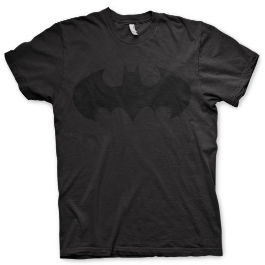 Batman Logo T-Shirt dripping