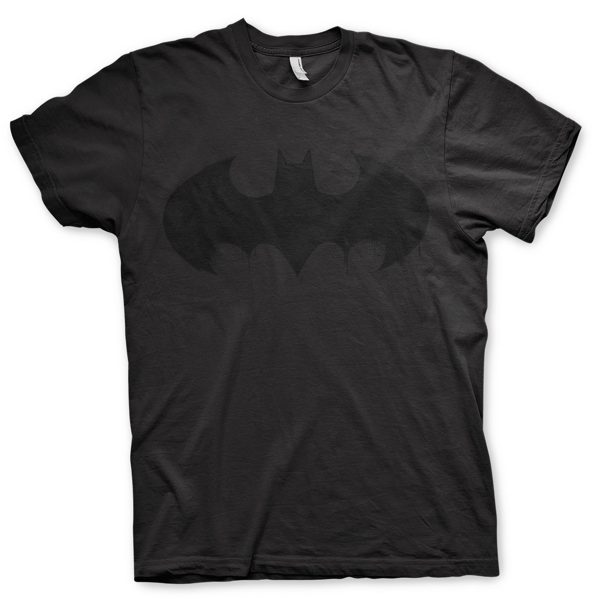 Batman-Logo-T-Shirt-dripping