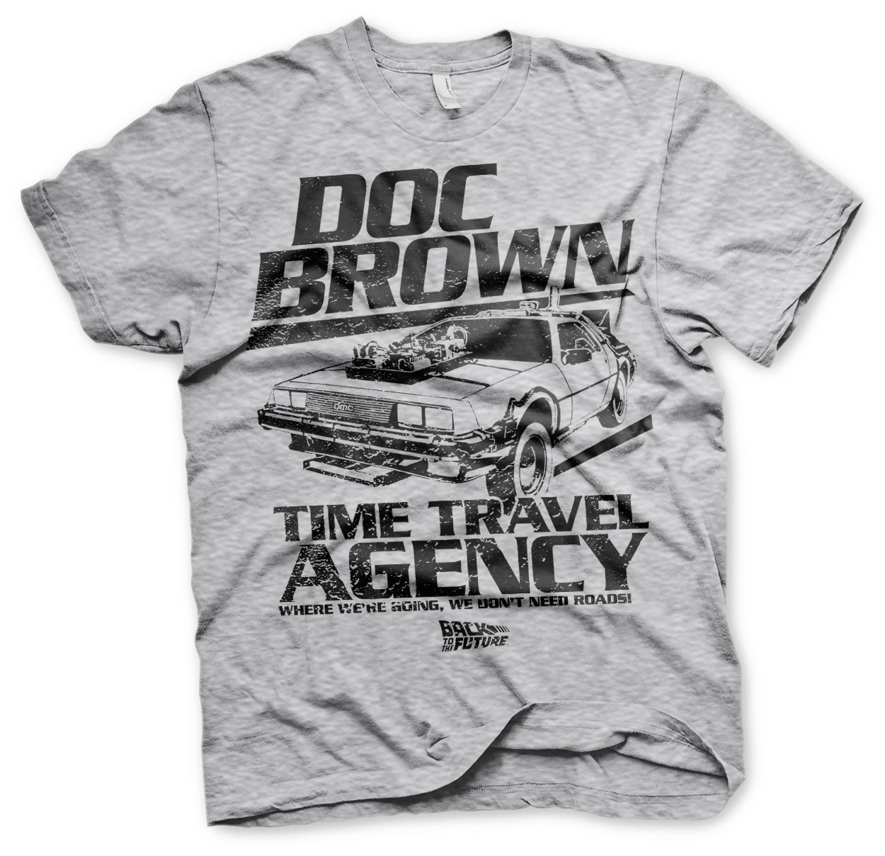 Doc Brown Time Travel Agency T-Shirt