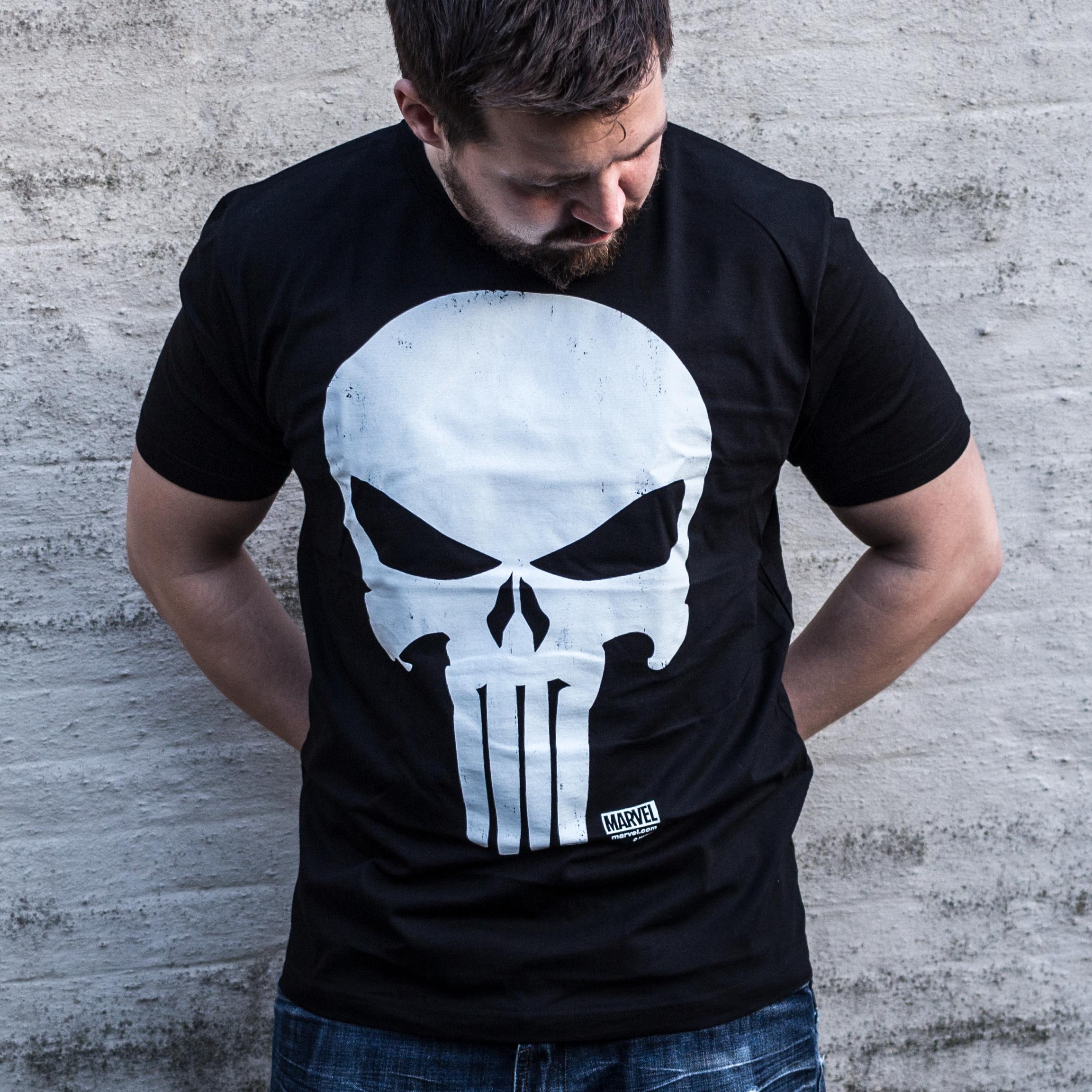 The Punisher Movie Skull T-shirt