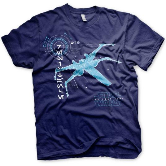 Star Wars - The Last Jedi S-X-378 X-Wing T-Shirt
