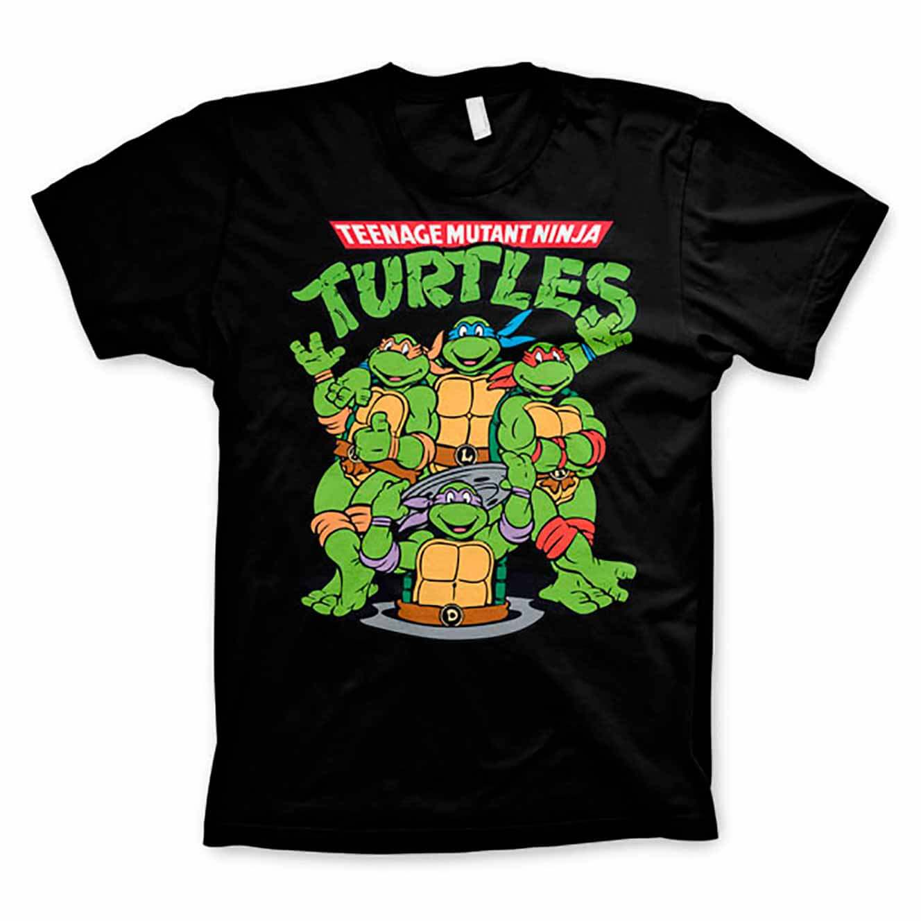 Turtles group T-shirt