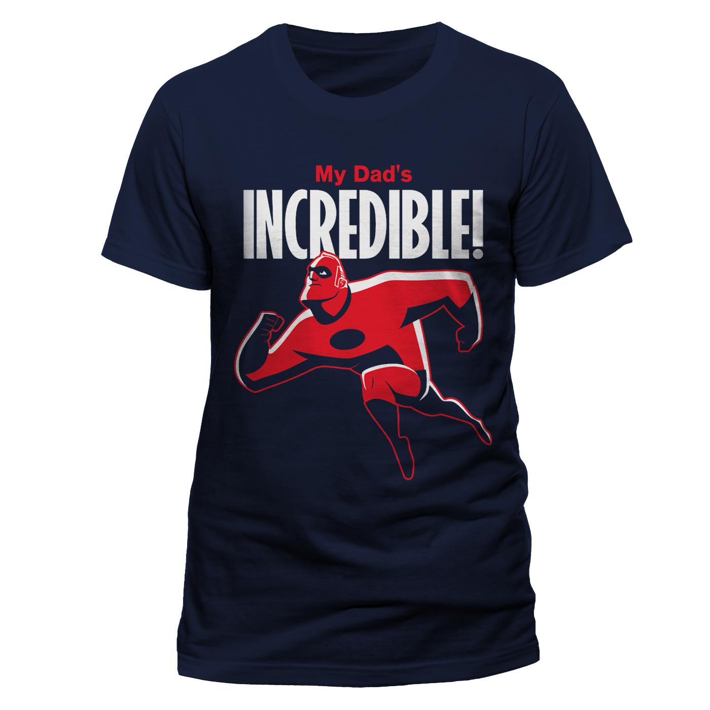 PCDIS787 Incredibles 2 My Dad's Incredible – Navy