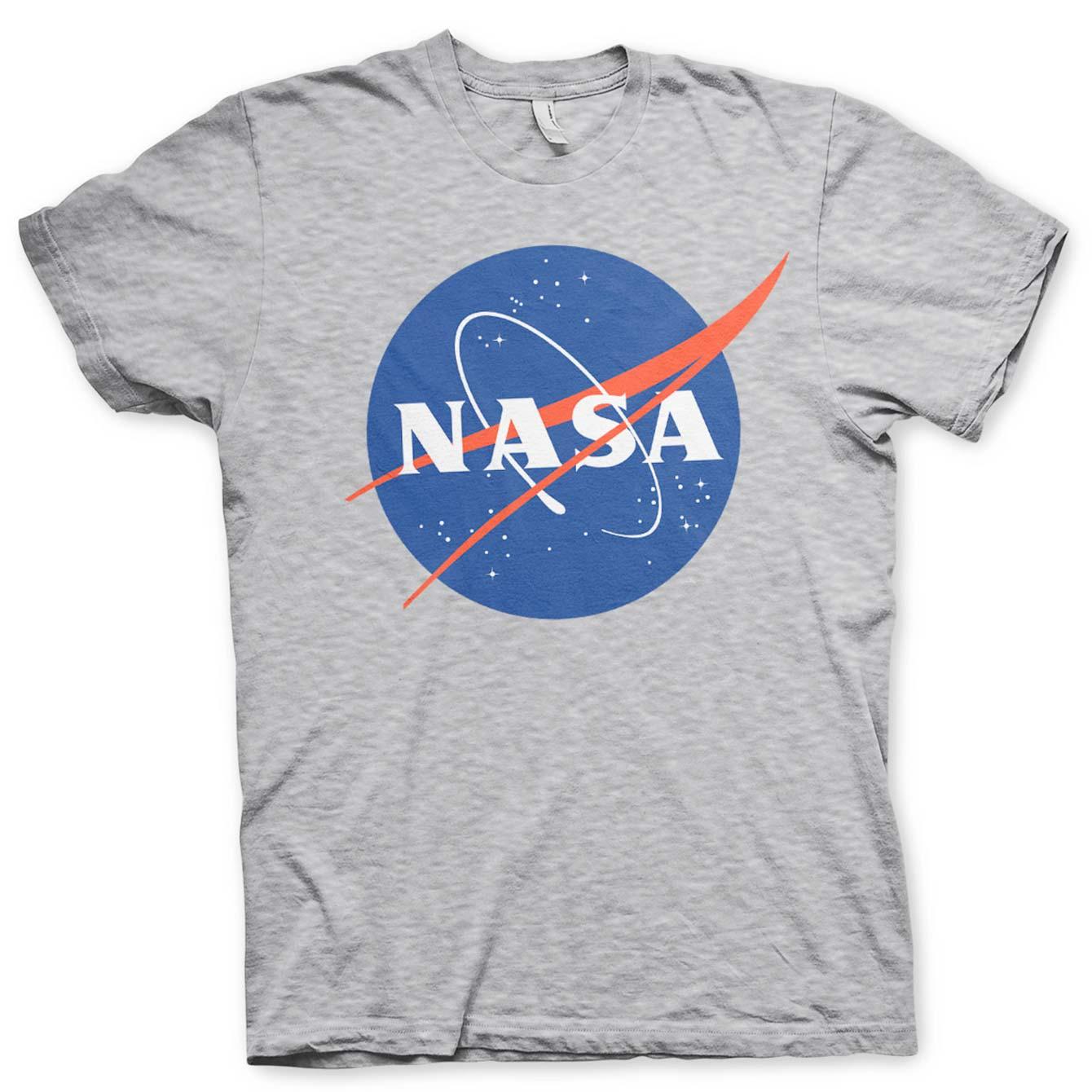 nasa-logo-graa-t-shirt
