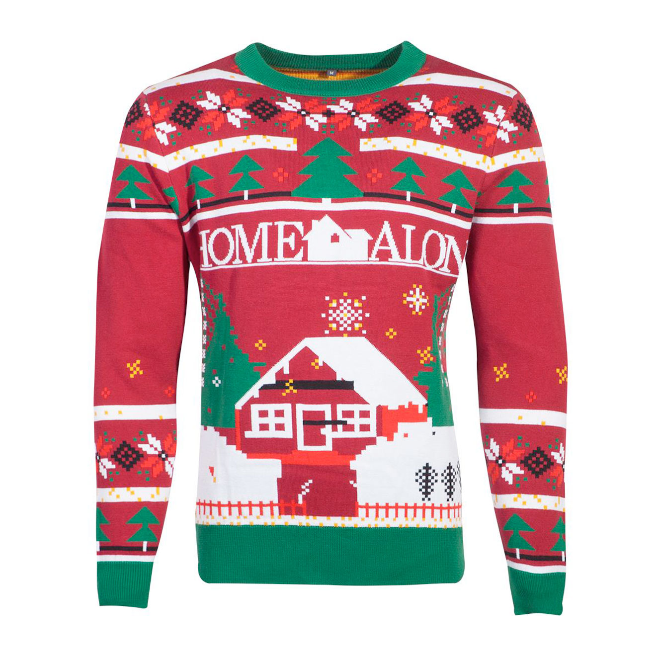 alene-hjemme-julesweater