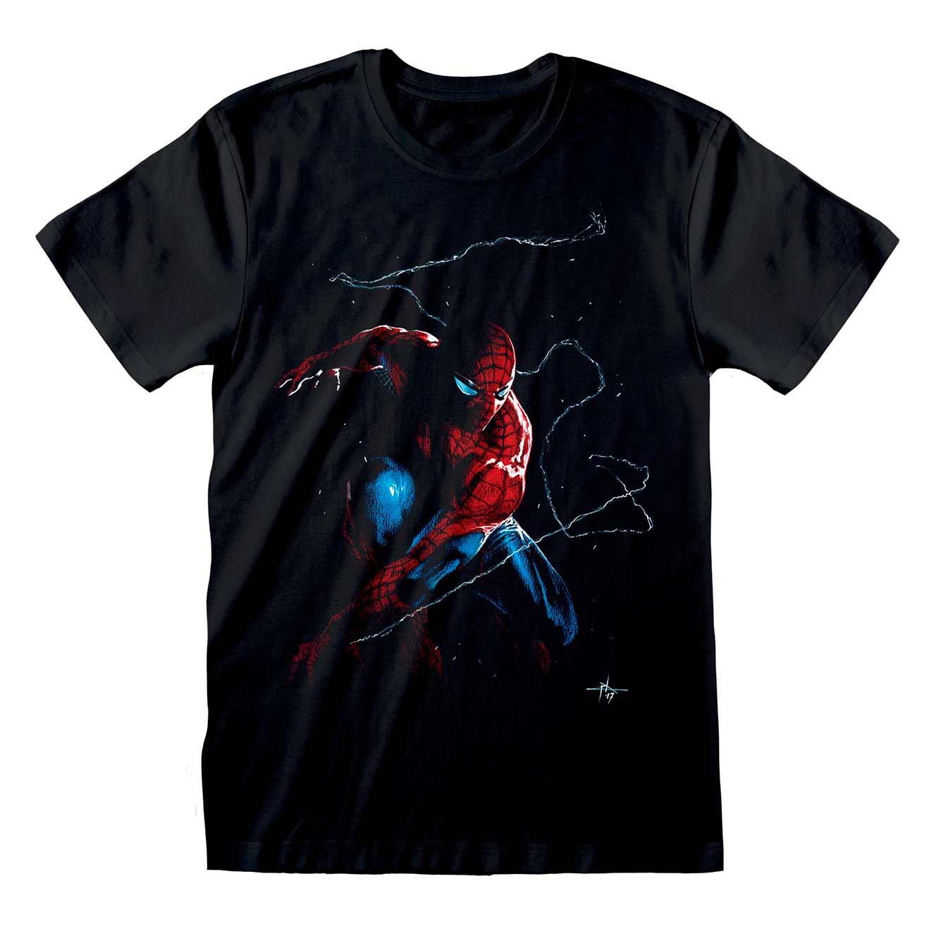 spider-man-art-work-t-shirt-black
